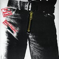 Обложка альбома The Rolling Stones «Sticky Fingers» (1971)