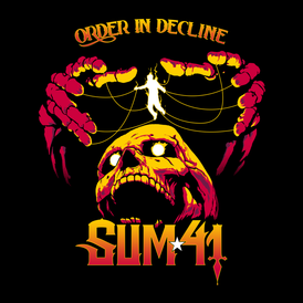 Обложка альбома Sum 41 «Order In Decline» (2019)