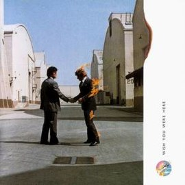 Обложка альбома Pink Floyd «Wish You Were Here» (1975)