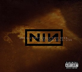 Обложка альбома Nine Inch Nails «And All That Could Have Been» (2002)