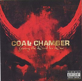 Обложка альбома Coal Chamber «Giving The Devil His Due» (2003)