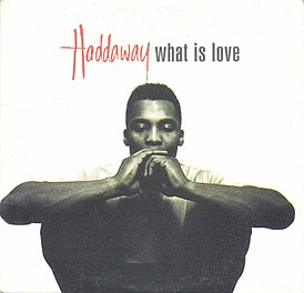 Обложка сингла Haddaway «What Is Love» (1993)