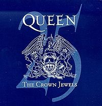 Обложка альбома Queen «The Crown Jewels» (1998)