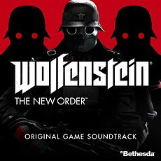 Обложка альбома Майкл Джон Гордон[8] «Wolfenstein: The New Order Original Game Soundtrack[7]» ({{{Год}}})