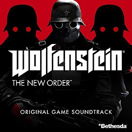 Обложка альбома Мик Гордон[7] «Wolfenstein: The New Order Original Game Soundtrack[6]» ()
