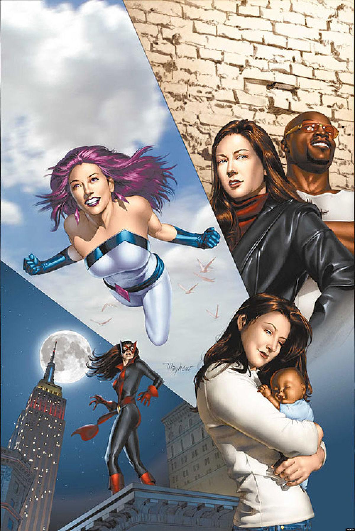 Девушек аниме девушек с членами различных героев комиксов фото 206-636