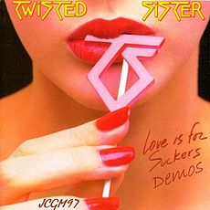 Обложка альбома Twisted Sister «Love Is for Suckers» (1987)