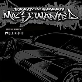 Обложка альбома «Need for Speed: Most Wanted Original Music» (2006)