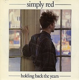 Обложка сингла Simply Red «Holding Back the Years» (1985)