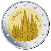 €2 Commemorative coin Spain 2012.jpg