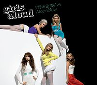 Обложка сингла «I Think We're Alone Now» (Girls Aloud, 2006)