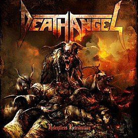 Обложка альбома Death Angel «Relentless Retribution» (2010)