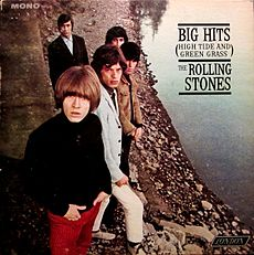 Обложка альбома The Rolling Stones «Big Hits (High Tide and Green Grass)» (1996)