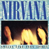 Обложка сингла «Smells Like Teen Spirit» (Nirvana, 1991)
