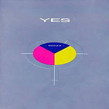 Обложка альбома Yes «90125» (1983)