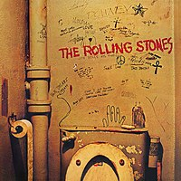Обложка альбома The Rolling Stones «Beggars Banquet» (1968)