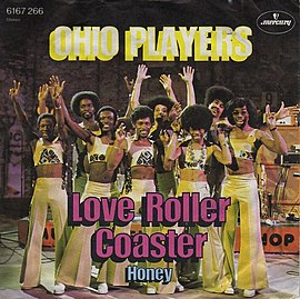 Обложка сингла Ohio Players «Love Rollercoaster» (1975)