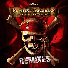 Обложка альбома Пол ОкенфолдThe Crystal MethodРейланд ЭллисонХанс Циммер «Pirates Of The Caribbean: At World's End. Remixes» (2007)