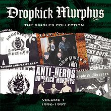 Обложка альбома Dropkick Murphys «The Singles Collection, Volume 1» (2000)