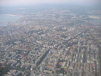 Варна, вид с воздуха