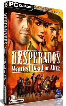 Desperados- Wanted Dead or Alive (Обложка диска).jpg