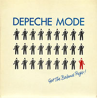 Обложка сингла «Get the Balance Right!» (Depeche Mode, 1983)