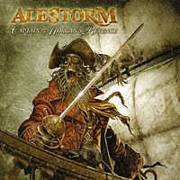 Обложка альбома Alestorm «Captain Morgan's Revenge» (2008)