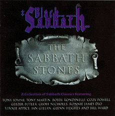 Обложка альбома Black Sabbath «The Sabbath Stones» (1996)