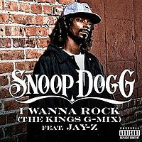 Обложка сингла «I Wanna Rock (The Kings' G-Mix)» (Snoop Dogg при участии Jay-Z, 2010)