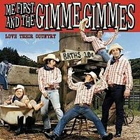 Обложка альбома Me First and the Gimme Gimmes «Love Their Country» (2006)