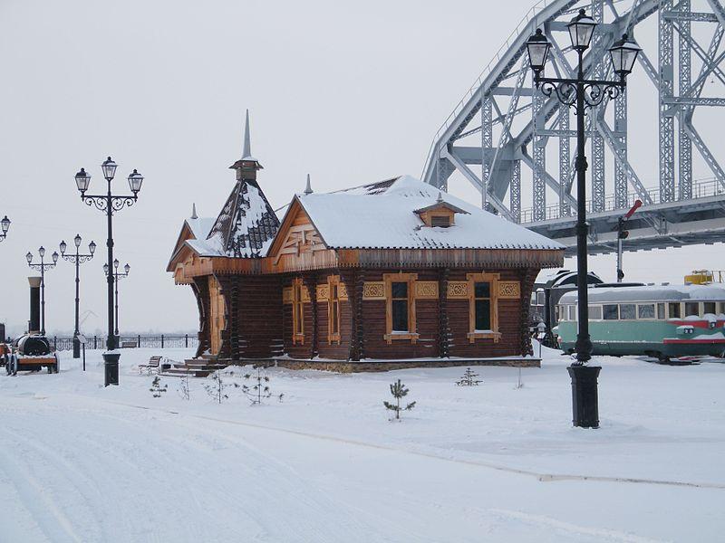 Файл:Музей Амурского моста фото.jpg