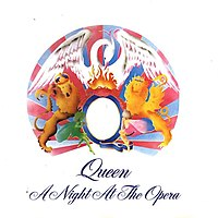 Обложка альбома Queen «A Night at the Opera» (1975)