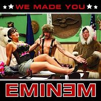 Обложка сингла «We Made You» (Eminem, 2009)