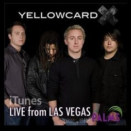 Обложка альбома Yellowcard «Live from Las Vegas at the Palms» (2008)