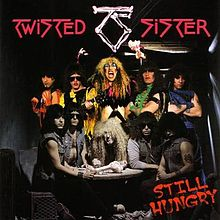 Обложка альбома Twisted Sister «Still Hungry» (2004)