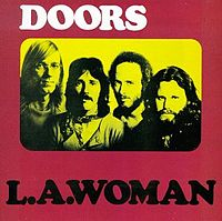 Обложка альбома The Doors «L.A. Woman» (1971)