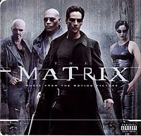 Обложка альбома  «The Matrix: Music from the Motion Picture» (1999)
