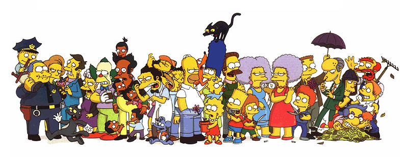 Файл:Simpsons cast.jpg