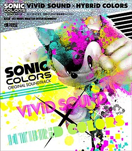Обложка альбома «Vivid Sound x Hybrid Colors: Sonic Colors Original Soundtrack» (2010)