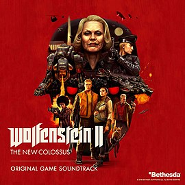 Обложка альбома  «Wolfenstein II: The New Colossus Original Game Soundtrack[10][11]» ()