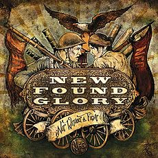 Обложка альбома New Found Glory «Not Without a Fight» (2009)