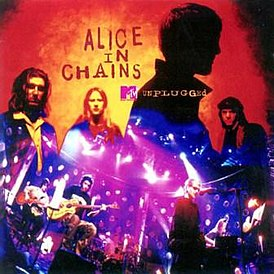 Обложка альбома Alice in Chains «MTV Unplugged» (1996)