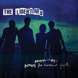 Обложка альбома The Libertines «Anthems for Doomed Youth» (2015)