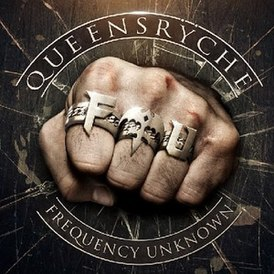Обложка альбома Queensrÿche «Frequency Unknown» (2013)