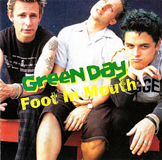 Обложка альбома Green Day «Foot in Mouth» (1996)