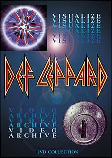 Обложка альбома Def Leppard «Visualize» (1993)