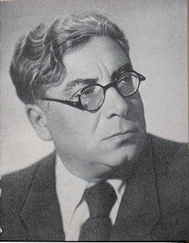 И. Сельвинский в 1950-х годах