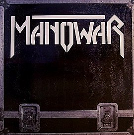 Обложка сингла Manowar ««All Men Play on Ten»» (1984)