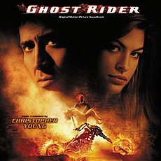 Обложка альбома Кристофер Янг «Ghost Rider: Original Motion Picture Soundtrack» ()
