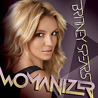 Обложка сингла «Womanizer» (Бритни Спирс, 2008)